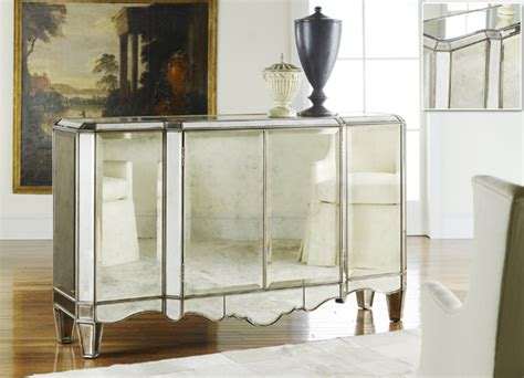mirrored credenza sideboard modern history mirrored sideboard 4159
