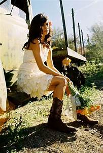 short country wedding dresses with cowboy boots dresses With country girl wedding dresses