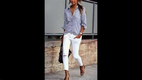 how to whites how to style white denim jeans anytime b4 memorial day after labor day outfit idea