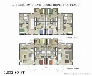 Beautiful 5 Bedroom Duplex House Plans - New Home Plans Design