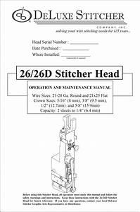 Buy Deluxe Stitcher Parts