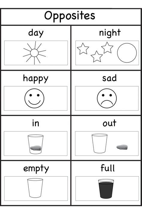 worksheets for 4 years kindergarten