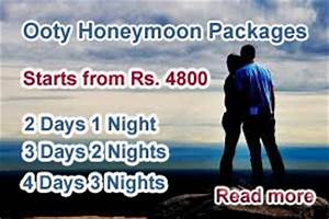 Trains time train fare distance route map for Honeymoon packages for ooty