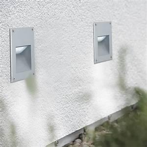 Luminaire Exterieur Mural : eclairage exterieur mural encastrable conceptions de ~ Edinachiropracticcenter.com Idées de Décoration