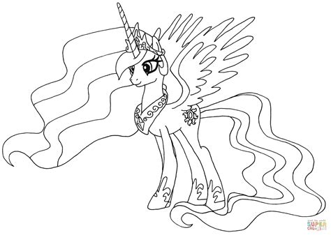 alicorn pages coloring pages