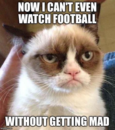 Football Cat Meme - grumpy cat reverse meme imgflip