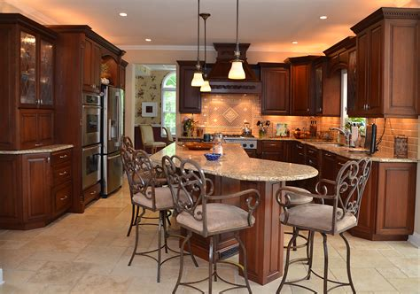 affordable kitchen design leaded glass cherry kitchen wall new jersey by design line 1172