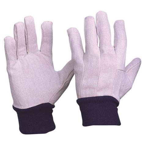 cotton drill gloves mens  personal protective