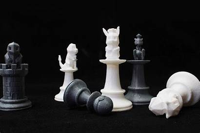 Chess Pieces 3d Printed Pokemon Awesome Super