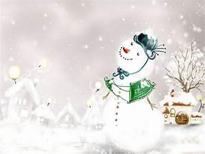 wallpaper: Christmas Snowman