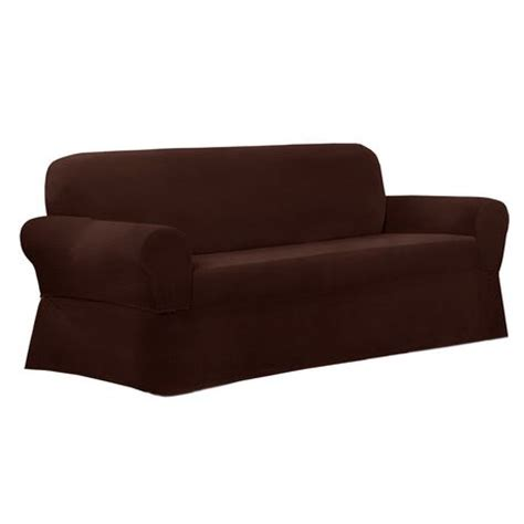 Walmart Canada Sofa Slipcovers by Mainstays Newman Stretch 1 Sofa Slipcover Burgundy