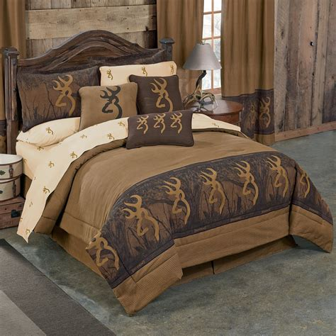 oak tree buckmark comforter set twin
