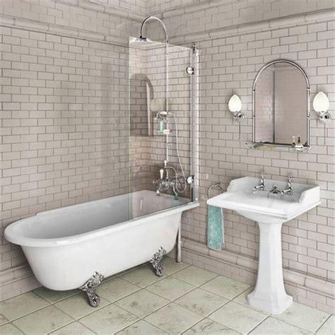 Bathroom Ideas Roll Top Bath by Burlington Hton Shower Bath Traditional Style Free