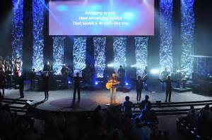 Screen Falling Church Stage Design Idea The Way To Make Church Stage Design