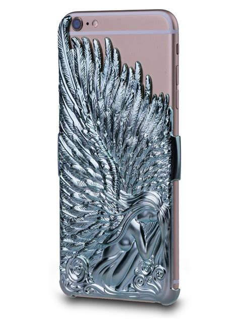 3d iphone 5s cases luxury 3d wings pc back cover for apple