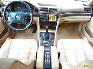 2000 BMW 7 Series 740iL Sedan Sand Dashboard Photo