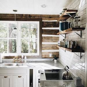 sweet log cabin kitchen content in a cottage With kitchen colors with white cabinets with acne spot stickers