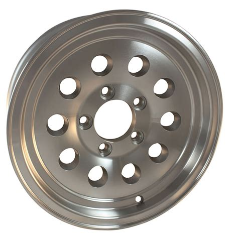 Aluminum Boat Trailer Wheels For Sale by 15 Inch Aluminum Trailer Wheel 6 Lug Load Rating 2 540 Lb