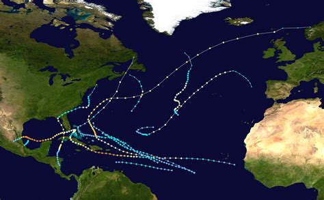 1966 Atlantic Hurricane Season Wikipedia