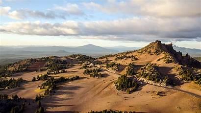 Nature Crater Lake Mountain Wallpapers Desktop Landscape