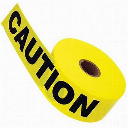 Caution Tape Warning Clip Clipart Border Yellow