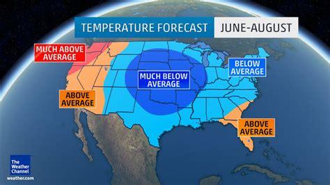 summer  forecast       average