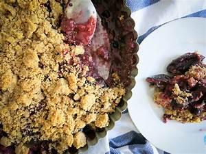 Pflaumen Crumble Rezept : einfaches pflaumen crumble rezept schnell und lecker ~ Lizthompson.info Haus und Dekorationen
