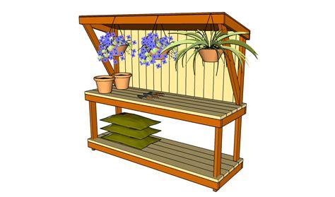 pdf plans outdoor garden workbench plans dremel