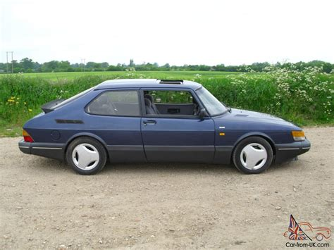 classic saab 1991 saab classic 900 s aero turbo le mans blue