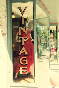 Vintage Shop Display Window