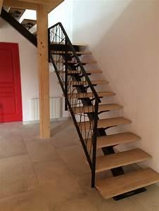 escalier metallique lyon escalier metal villefranche With faire plan maison 3d 13 garde corps escalier design et verriare sur mesure en