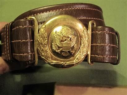 Belt Buckle General Officer Wwii Russet Officers
