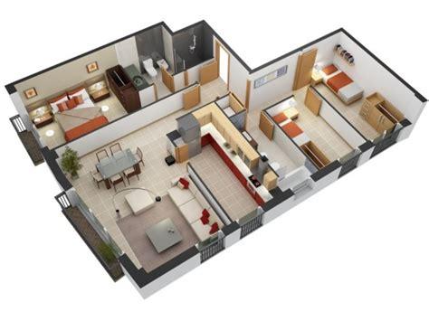 Images Of Small Bedroom Designs by Planos De Departamentos De 3 Habitaciones Construye Hogar