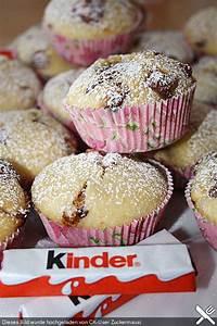 Backen Mit Kinderschokolade : die besten 25 kinderschokolade muffins ideen auf pinterest muffin chocolate chip nachspeisen ~ Frokenaadalensverden.com Haus und Dekorationen