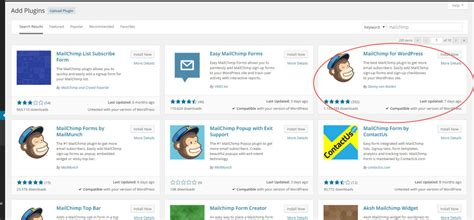 code for pretty horizontal mailchimp signup form how do i put a mailchimp email signup box on my