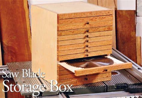 blade storage box plan woodarchivist