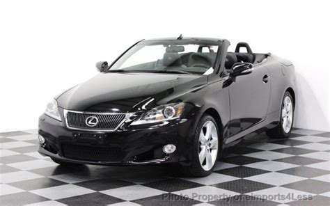 2011 Used Lexus Is 250c Certified Lexus Is250c Navigation