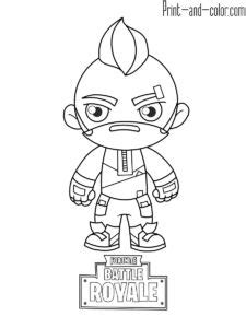 fortnite coloring pages drawing   kids learn art