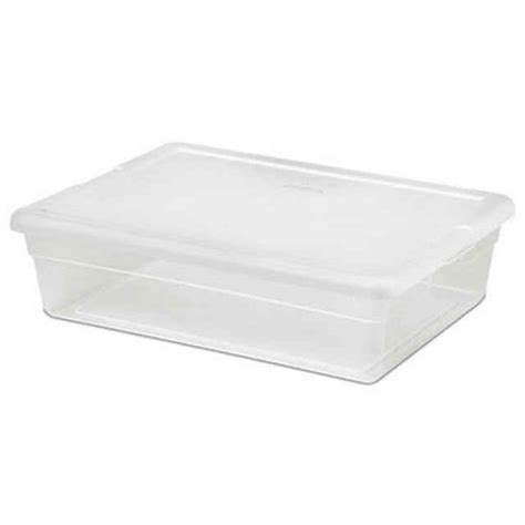 Sterilite Bed Storage by Sterilite 28 Qt Storage Box Plastic Underbed Storage Box