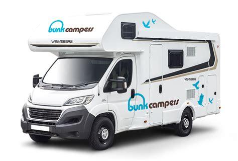 Bunk Campers   Vista Plus ? Luxury 4 Person Campervan Hire