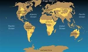 WORLD MAP THE SAVANNAH