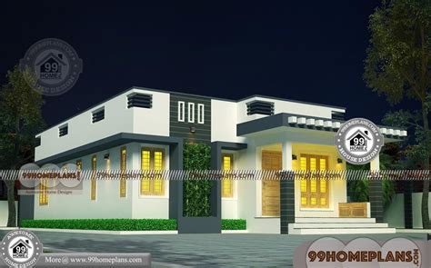 house plan contemporary flat roof simple budget designs