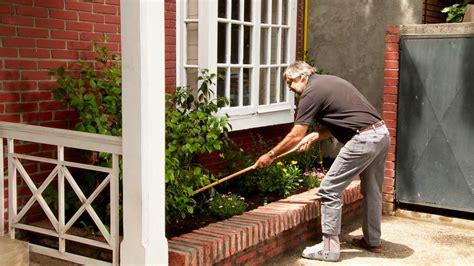 hagalo usted mismo como hacer una jardinera de ladrillos