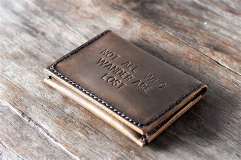 Leather Card Holder Handmade spectacular handmade credit card holder wallet gifts for