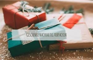 Geschenke Originell Verpacken Tipps : geschenke nachhaltig verpacken 11 tolle tipps ecomonkey ecomonkey ~ Orissabook.com Haus und Dekorationen