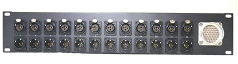 dt  audio patch panel  channel trinity electronics systems