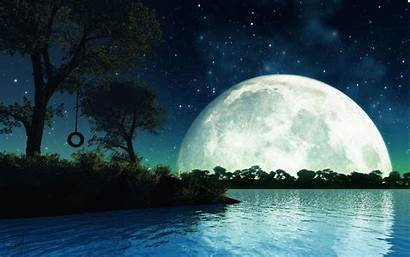 Moonlight Night Wallpapers Romantic Cave
