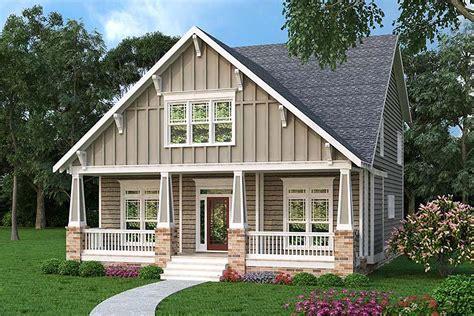 comfortable craftsman bungalow gb architectural designs house plans