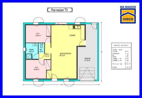 plan maison cuisine ouverte sejour et cuisine ouverte 4 constructeurvendee 187