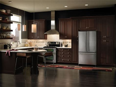 kitchen cabinets espresso finish jdssupply leighton by armstrong cabinets 6042